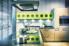 Detail of modern kitchen Royalty Free Stock Image
