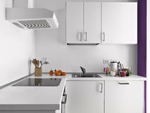 Detail of modern kitchen Royalty Free Stock Images