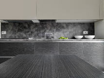 Detail of a modern kitchen Royalty Free Stock Photo