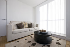 Detail of a modern living area Royalty Free Stock Images