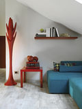 Detail of modern living room Royalty Free Stock Photo
