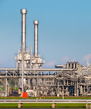 Natural Gas Processing Plant Stock Photography