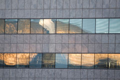 Detail from a Modern Office Block Royalty Free Stock Photography