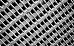 Detail of modern office building. Glass front of a modern office building royalty free stock photography