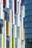 Detail of a modern office building, Beijing, China Stock Image