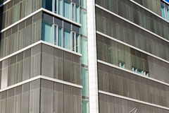 Detail of a modern office building Royalty Free Stock Image