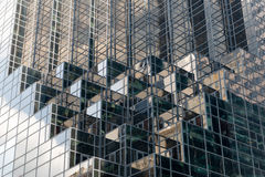 Detail Modern Office Building in New York City royalty free stock photo