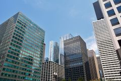 Skyscrapers in Chicago, Illinois, USA. Royalty Free Stock Photos