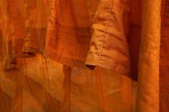 Detail of monk dress Stock Photo