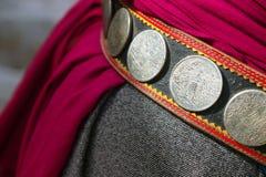 Detail of monks belt royalty free stock image