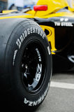 Detail of Monopost F1 royalty free stock images