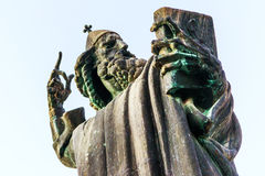 Detail of the monument to Gregory of Nin in Split, Croatia Royalty Free Stock Photo