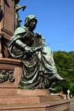 Detail of the monument to Maximilian II in Munich, Germany Royalty Free Stock Photos
