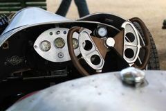 Morgan Three Wheeler - Historic GP Pau stock images