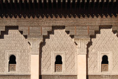 Detail of Moroccan Architecture Royalty Free Stock Photography