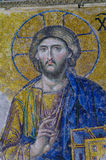 Detail of Mosaic From the Hagia Sofia, Istanbul Stock Photos