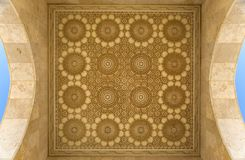 Detail from the mosque Hassan II in Casablanca, Morocco Stock Image