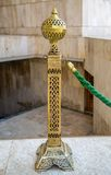 Detail from mosque Hassan II in Casablanca, Morocco Royalty Free Stock Photography