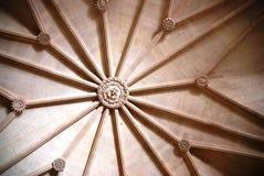 Detail of Mosteiro dos Jeronimos, Lisbon. Interior/ceiling of the Mosteiro dos Jeronimos, called also Hieronymites Monastery (in Lisbon, Portugal): this royalty free stock photo