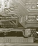 Detail motherboards Stock Images