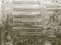 Detail motherboards Royalty Free Stock Images