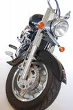 Detail of motorbike. With white background Stock Image