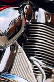 Detail of motorbike Royalty Free Stock Photos