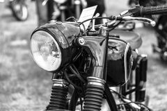 Detail of motorcycle BMW R51/3, Stock Photography