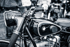 Detail of motorcycle BMW R51/3 Stock Photo