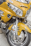Detail of motorcycle Royalty Free Stock Image