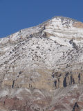 Detail, mountain peak in winter, Royalty Free Stock Photography