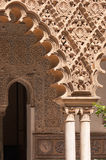 Detail of mudejar decorations Royalty Free Stock Photography