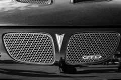 Detail of muscle car Pontiac GTO Fourth generation, 2006. Stock Photography