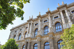 Detail of museum in Vienna, Austria Royalty Free Stock Image