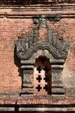 Detail Nagayon-Tempel Bagan myanmar Stockbilder