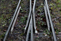 Detail of narrow gauge railway line Royalty Free Stock Photography
