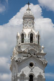 Detail of the National Cathedral on Plaza Grande, Quito Royalty Free Stock Image