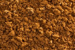 Detail of natural clay soil with texture Royalty Free Stock Photos
