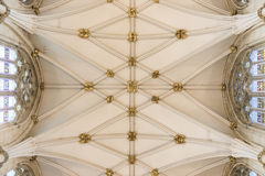 York Minster nave ceiling, UK Royalty Free Stock Image