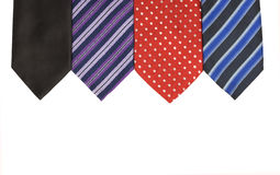 Detail of necktie Stock Photography