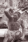 Detail on Neptune Fountain - Fontana di Nettuno by Ammannati (15 Royalty Free Stock Images