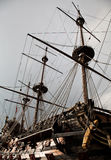 Detail of Neptune Galleon Royalty Free Stock Image