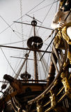 Detail of Neptune Galleon Stock Images