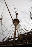 Detail of Neptune Galleon Royalty Free Stock Photos