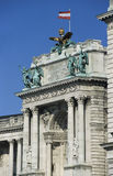 Detail of Neue Burg, Vienna. Royalty Free Stock Image