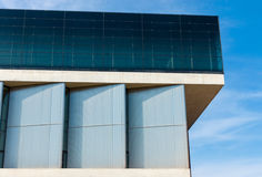 Detail of the New Acropolis Museum Stock Photos