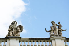 A detail of the New Palace in the Sanssouci Park, Potsdam Stock Photo