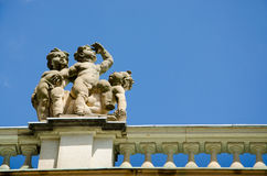 A detail of the New Palace in the Sanssouci Park, Potsdam Royalty Free Stock Photos