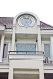 Detail of newly build townhome. Townhome in Bankok of Thailand Royalty Free Stock Photos