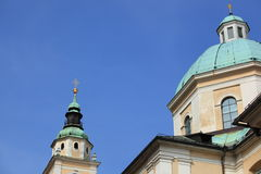 Detail of Nicholas Cathedral Stock Photos